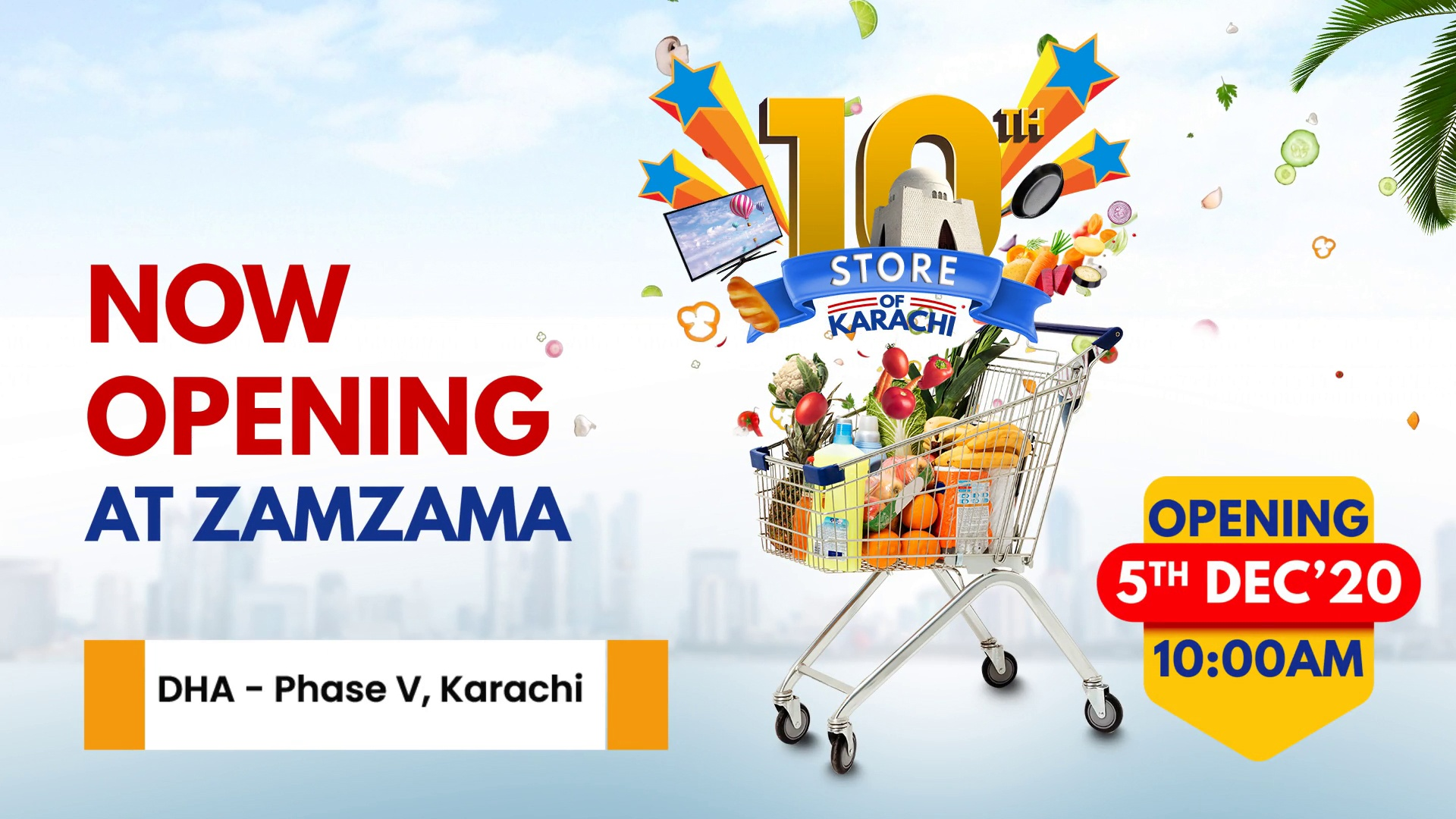 The city of lights welcomes Imtiaz Mega Zamzama, 10th store of Imtiaz in Karachi!