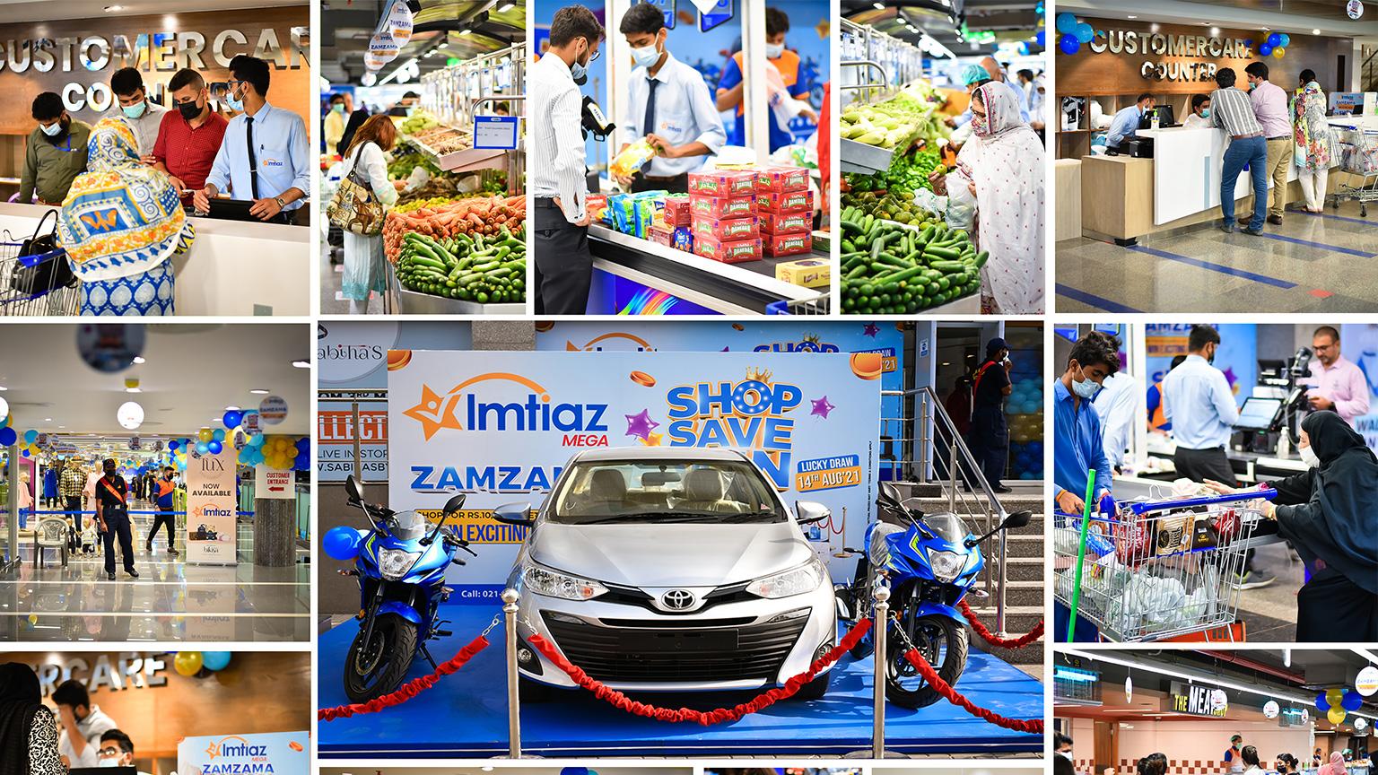 Imtiaz Mega Zamzama – Bringing Grand Lucky Draw For Everyone